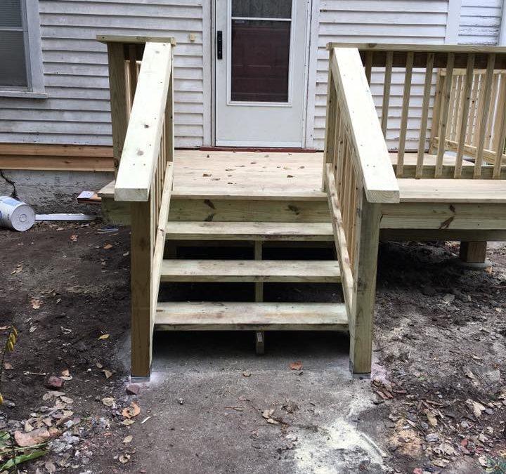 Miller Deck Remodel