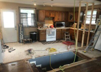 DEC2020: Kitchen & Living Space